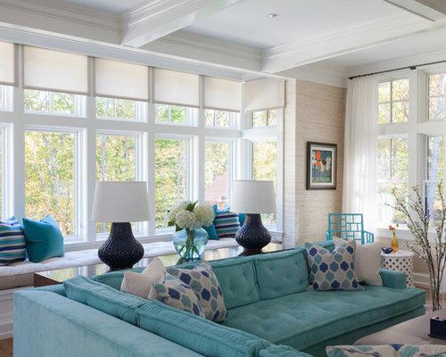 Ideas para salas de estar fotos de salas de estar - Televisores sin marco ...