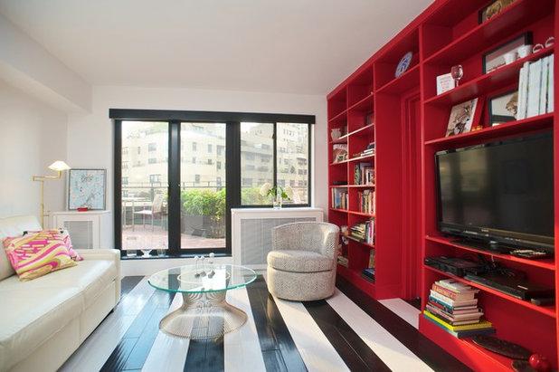 Contemporary Family Room by DAS Studio