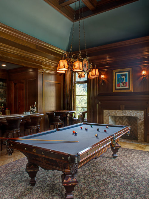 Rug Under Pool Table Houzz