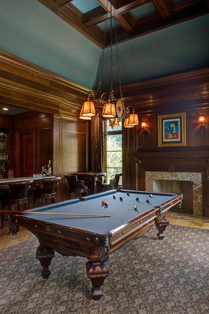 Mediterranean Family Room by Great  Falls Distinctive Interiors Inc.
