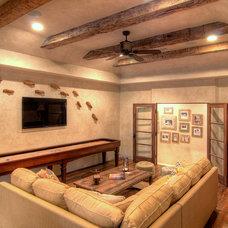 Mediterranean Family Room by Eklektik Interiors