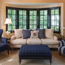 Traditional Family Room by Patricia Knox Designs
