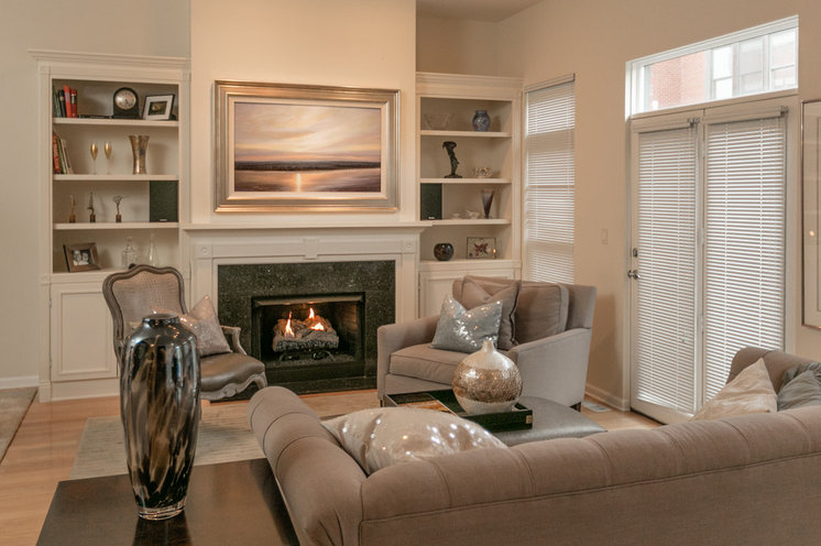 Traditional Family Room by Frame My TV