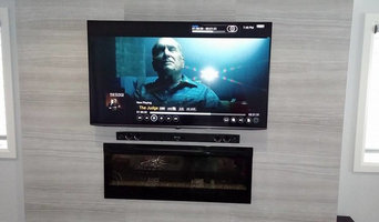 TV Installation - Ceramic Tile Wall