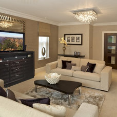 Traditional Family Room by TVLiftCabinet