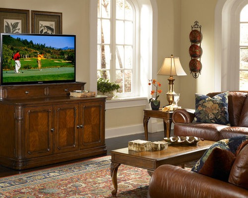SaveEmail - Retractable Tv Cabinet Houzz