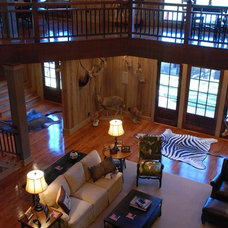 Traditional Family Room by HoBart Builders, Inc.