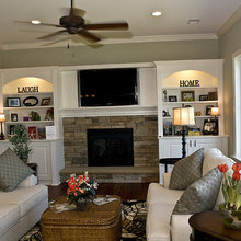 Fireplace and built-ins