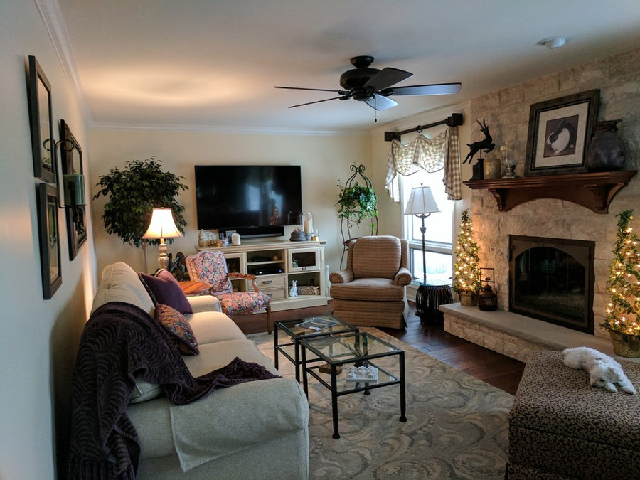 Updating a family room