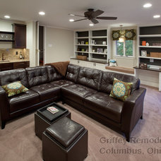 Contemporary Family Room by Griffey Remodeling