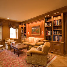 Traditional Family Room by Clawson Architects, LLC