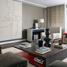 Contemporary Family Room by Dineen Architecture + Design