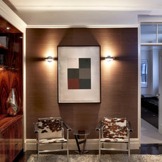 Contemporary Family Room by Jan Albert Design