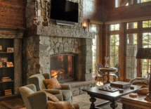 The fireplace looks great. Is it an insert or zero clearance unit?  If