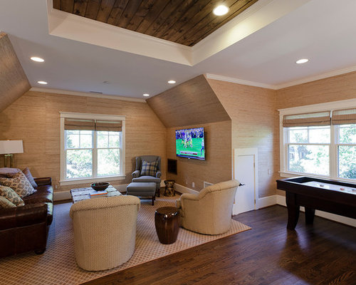 bonus room above garage houzz bonus room a wet bar with a beverage fridge and plenty of