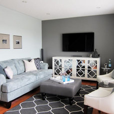 Contemporary Family Room by Creative Design Therapy