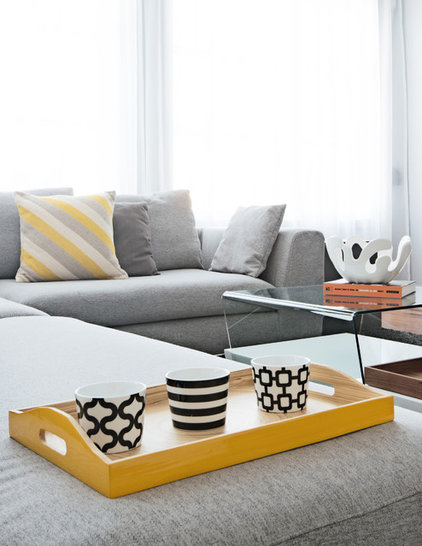 Contemporary Family Room by David Giral Photography