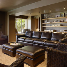 Modern Family Room by V  & Company, Fine Builders