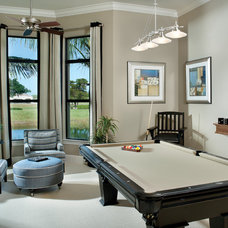 Mediterranean Family Room by Arthur Rutenberg Homes
