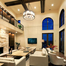 Contemporary Family Room by Fine Focus Photography