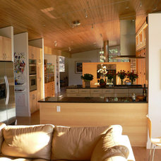 Midcentury Family Room by mark gerwing