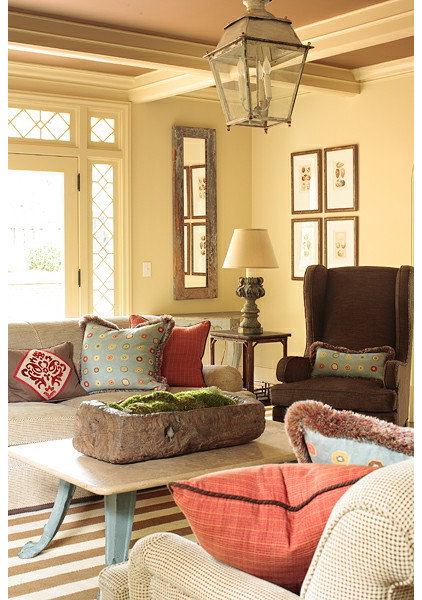 Traditional Family Room by Liz Williams Interiors