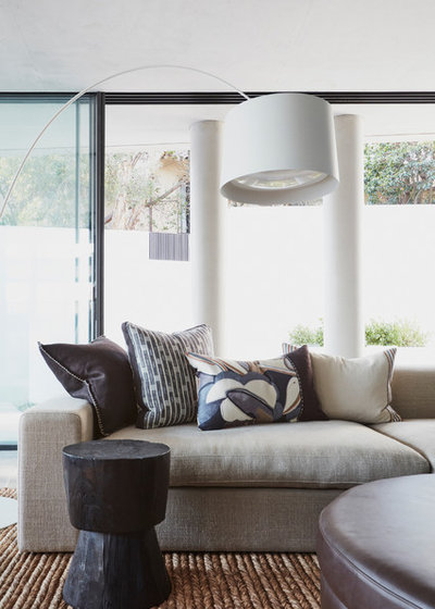 Contemporary Family Room by Style Merchants