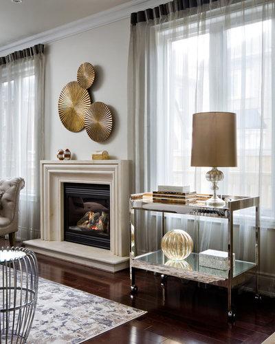 Traditional Family Room by Toronto Interior Design Group | Yanic Simard