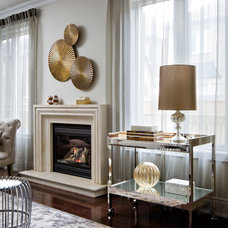 Traditional Family Room by Toronto Interior Design Group | Yanic Simard