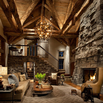 Vaulted Great Room