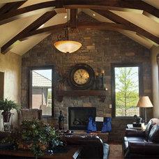 Contemporary Family Room by Craig Sharp Homes