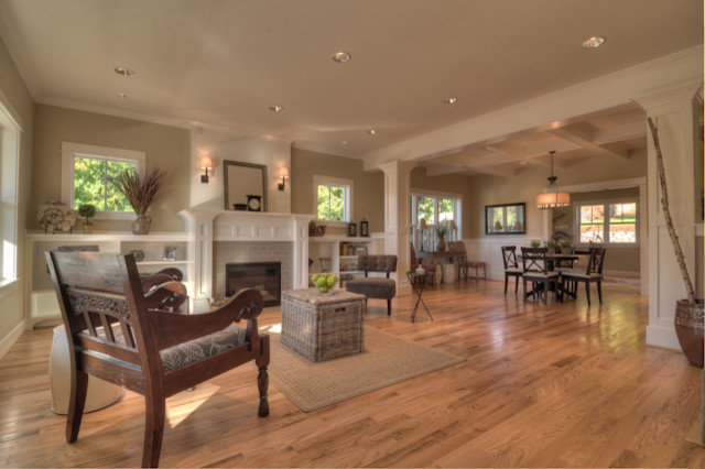 Traditional Family Room by TTM Development Company