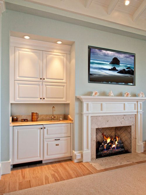Bar Fireplace Design Ideas Remodel Pictures Houzz