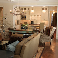 Traditional Family Room by Tommy Young Construction