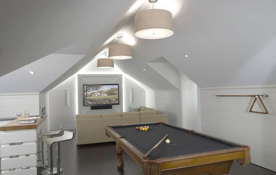 7 Tips to Put Your Attic in Play as a Game Room