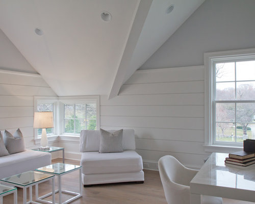 Shiplap paneling houzz for Images of rooms with shiplap