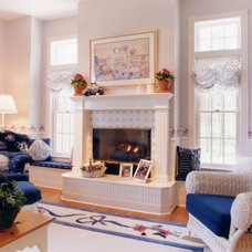 Traditional Family Room by Eagle Mountain Homes