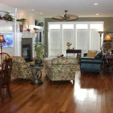 Traditional Family Room by Chuck Miller Construction Inc.