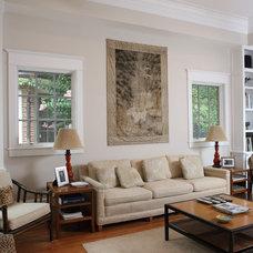 Contemporary Family Room by AHMANN LLC