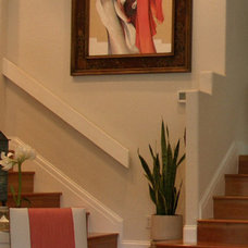 Traditional Family Room by Terri Symington, ASID
