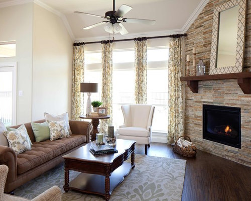Stone Fireplace Walls stone fireplace wall | houzz