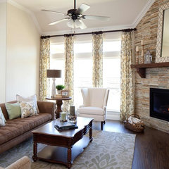 traditional family room by K. Hovnanian Homes