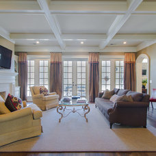 Traditional Family Room by Abbey Construction Company, Inc.