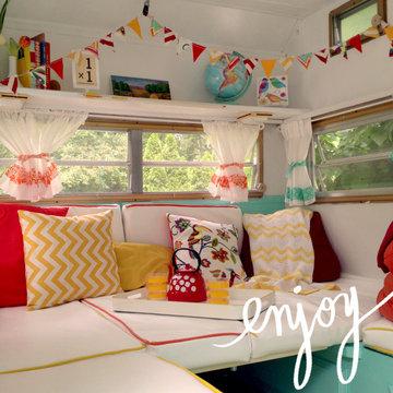 Vintage Caravan or Travel trailer