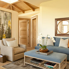 Contemporary Family Room by Bonesteel Trout Hall