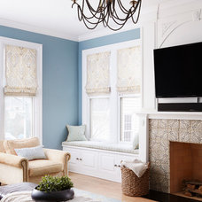 Traditional Family Room by Molly Quinn Design