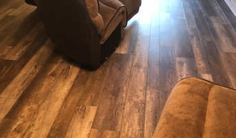 Vinyl Plank - Living Room - Leveling and install