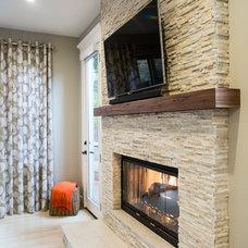 Modern Family Room by Elena Calabrese Design & Decor