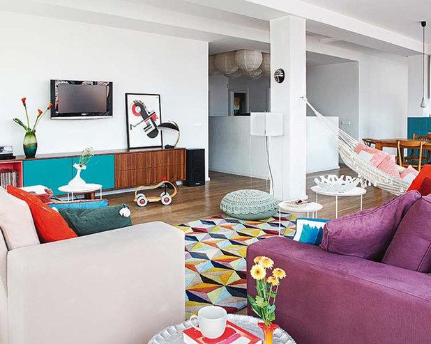 Ecléctico Sala de estar by Nimú