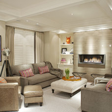 Transitional Family Room Vizzini
